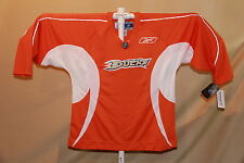 ANAHEIM DUCKS Orange Platinum REEBOK  Hockey  JERSEY   Small   NWT  $105 retail