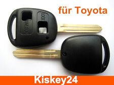 Car Key Blank Enclosure for Toyota Corolla Carina Land Cruiser RAV4 Verso