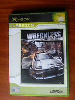 WRECKLESS the yakuza mission - XBOX  PAL gioco game console ITA