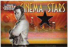 WILLIAM SHATNER AMERICANA CINEMA STARS SWATCH MATERIAL SP 143/500 NICE