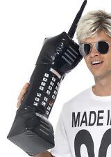 DEGLI ANNI OTTANTA'80 FANCY DRESS GONFIABILE JUMBO MOBILE Brick Phone 76 cm Nuovo Da Smiffys