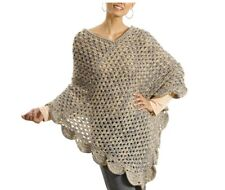 CROCHET PATTERN LADIES PONCHO- MULTI SIZE PATTERN - IDEAL FOR BEGINNERS