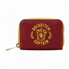 Official HARRY POTTER Gryffindor Quidditch Captain Coin Purse/Wallet House Crest