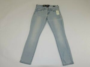 Lucky Brand Femmes Leyla Capri Jean Taille 0/25 Nwt Bleu Clair OLYMPIA Lavage