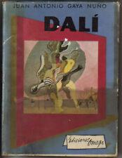 Salvador Dali by Juan Antonio Gaya Nuno 1950 in Spanish