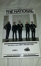 THE NATIONAL Merriweather Pavillion Columbia, MD Indie Rock Concert mini Poster