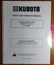 Kubota L9110 Power Steering Unit for L185DT Tractor Owner Operator Parts Manual