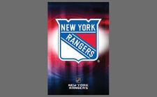 Rare NEW YORK RANGERS Team Logo Official NHL Hockey Wall POSTER