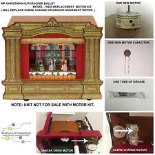 MR CHRISTMAS NUTCRACKER BALLET MODEL 79404- REPLACEMENT PART- SCENE&DANCER MOTOR