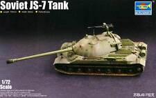 Trumpeter - Soviet JS-7 Heavy Tank 130mm C-70 gun Panzer Modell-Bausatz 1:72 kit