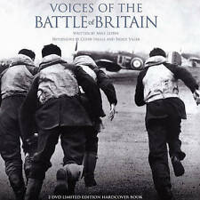 THE VOICES OF THE BATTLE OF BRITAIN NEW REGION 2 DVD