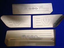 Presa de aire Scania v8 r580 & Insertos de acero inoxidable grabado con el logotipo de ala