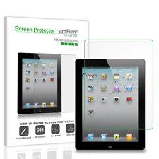 iPad 4, 3, 2 amFilm Premium Tempered Glass Screen Protector (1 Pack)