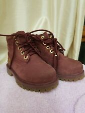 Timberland toddler classic boot red size 6