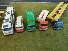 Dinky toys Truck Camion Vintage Autocar Remorque Trailer Mercedes AEC