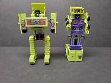 Transformers G1 Constructicon Lot - Mixmaster and Bonecrusher