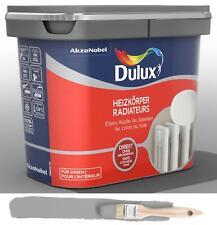 Dulux Fresh Up Renovierfarbe für Heizkörper satiniert Titanium 0 75 L