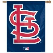 ST. LOUIS CARDINALS ~ Official MLB Outdoor House Flag Banner (STL Blue) ~ New!