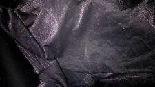 tissu jersey milano noir  & argent 50x140 cm