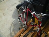 LOCAL PICKUP Vintage Red Schwinn Bicycle From Late 70's-80's Road Bike 80298