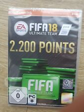 2200 Points ~ FUT ~ FIFA 18 Ultimate Team ~ PC ~