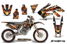 AMR Racing Honda CRF250X Graphic Decal Number Plate Kit Bike Sticker 04-15 FS K