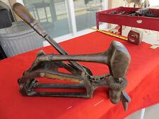 New ListingRare Vintage G.E Morris Beading Hammer Automatic Trip Blacksmith Boiler Tubes