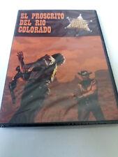 """DVD """"EL PROSCRITO DEL RIO COLORADO"""" DVD PRECINTADO SEALED MAURY DEXTER GEORGE MO"""