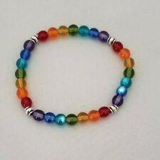 Gay Pride/LGBT Rainbow Stretchy Bracelet