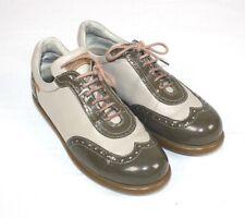 Camper pelotas! zapatos señora botas beige verde oliva 40 Budapester estilo #702#