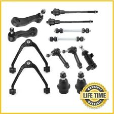 13Pcs Upper Control Arm Tie Rod Sway Bar Kit For Chevy Silverado 1500 4x4 6-Lug