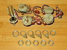 Gibson 1971 Nickel ES 335 Electronic Control Pots Harness