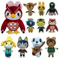 8'' Animal Crossing Tom Nook KK Rover Plush Toy Soft Stuffed Doll Toy Kids Gifts