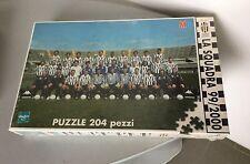VINTAGE# HASBRO  puzzle 204 Pezzi JUVE JUVENTUS  la squadra 1999 2000