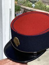 French Indochina Foreign Legion Kepi Hat With Paratrooper Badge
