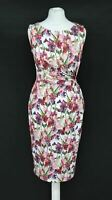 PHASE EIGHT Ladies Multicoloured Floral Sleeveless Sweet Pea Dress UK6 RRP99 NEW