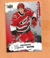 BRANDON SUTTER  UPPER DECK ROOKIE CLASS 2008-09 CARD # 45