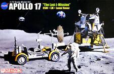Apollo 17 The Last J-Mission CSM + LM + Lunar Rover 1:72 Model Kit Dragon 11015