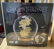 4D Cityscape Game of Thrones GoT 3D Westeros and Essos Globe Puzzle 9-inch NEW
