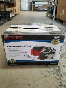 Red lion Shallow Well Jet Pump RJS-75SS