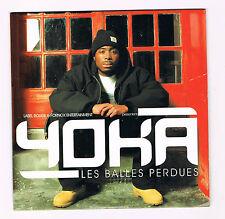 YOKA - LES BALLES PERDUES - 10TITRES - RAP FRANÇAIS - ÉTUI CARTON - NEUF NEW NEU