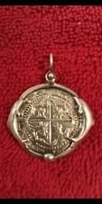 ATOCHA 1622 SILVER 2 REALES COIN MEL FISHER