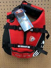 Ezydog Dog Flotation Device Life Jacket Red Size Small