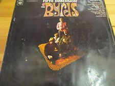 "S 62 783 GERMANY 12"" 33RPM 1967 THE BYRDS ""FIFTH DIMENSION"" EX-/F STEREO"