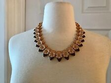 J.CREW STACKED FLORAL NECKLACE DELICATE PETAL F6491