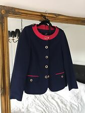 LOVE MOSCHINO ladies pre-owned blue blazer M