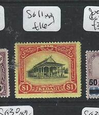 MALAYA KEDAH (PP2004B) $1.00  SG 11  MOG
