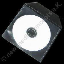 Einsteckhüllen  PP transparent mit Lasche für Mini CD/ Single 8 cm 100 Stück