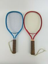 2 Ektelon Racquetball Racquets Red Rogue and Blue Jennifer Harding Ready 4 Play