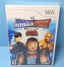 WWE SmackDown vs. Raw 2008 Featuring ECW Wii BRAND NEW FACTORY SEALED
